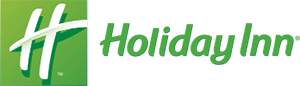 Green and white Holiday Inn small small sized logo